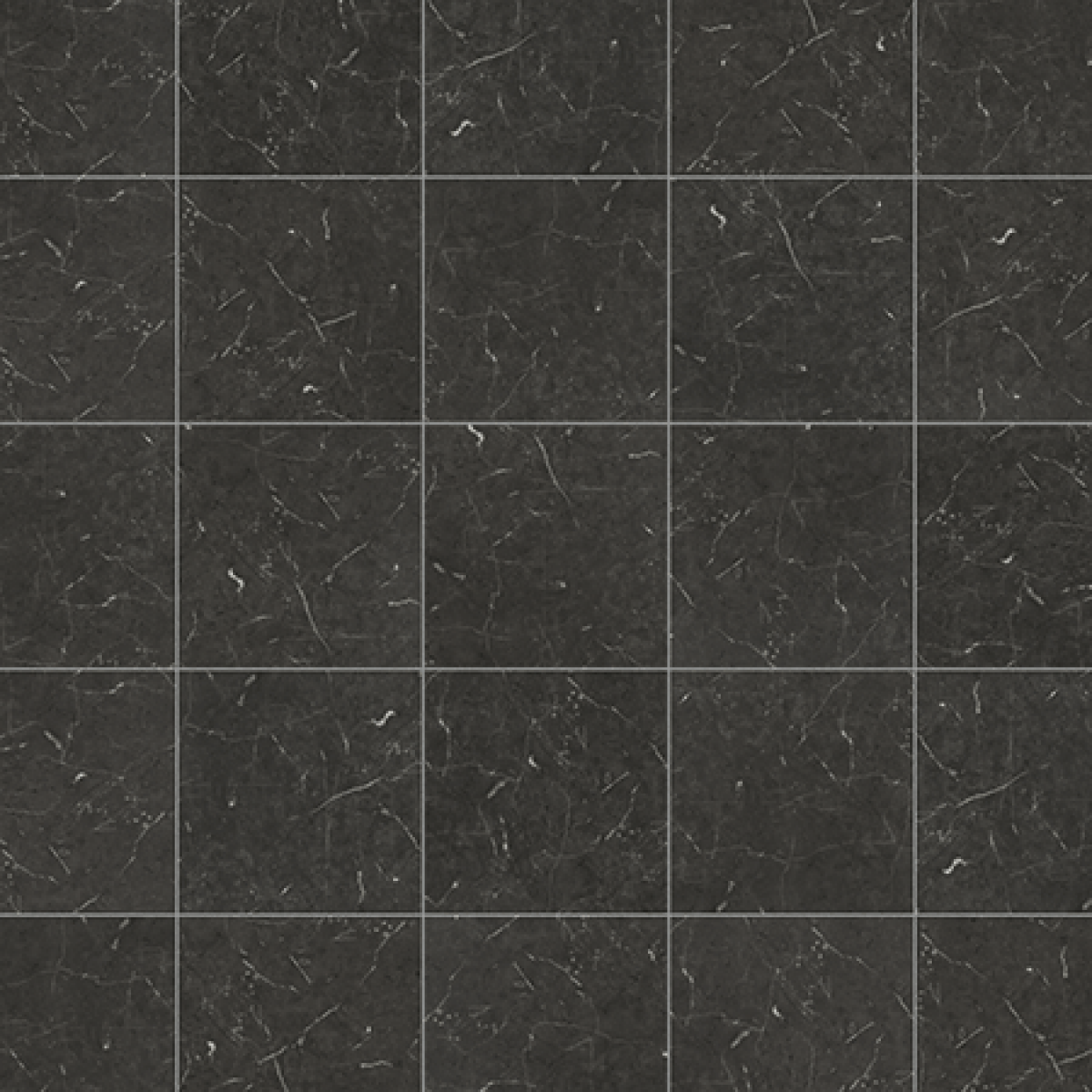 Karndean knight tile t74 midnight black marble vinyl for Black vinyl floor tiles