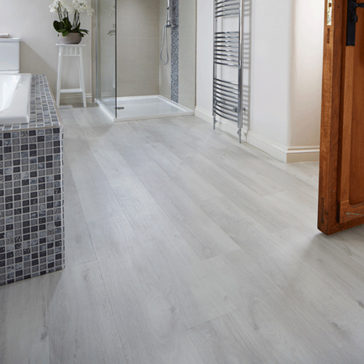Karndean Van Gogh Vgw80t White Washed Oak Vinyl Flooring