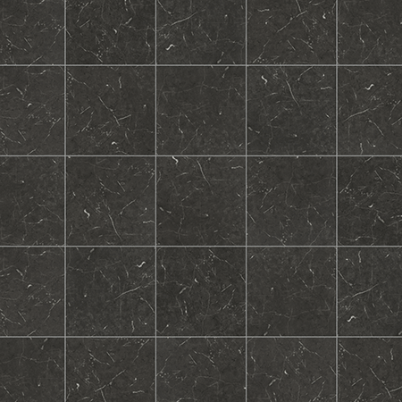 Karndean Knight Tile T74 Midnight Black Marble Vinyl Flooring