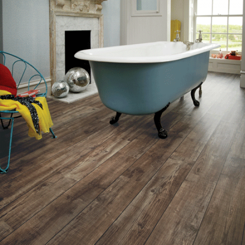 Karndean Knight Tile KP103 Mid Worn Oak Vinyl Flooring